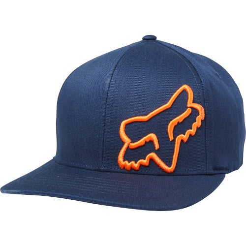 Fox Racing Flex 45 Flexfit Cap - Navy Orange