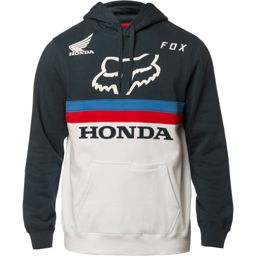 Fox Racing Honda Fleece Pullover Hoody - Nvy/wht