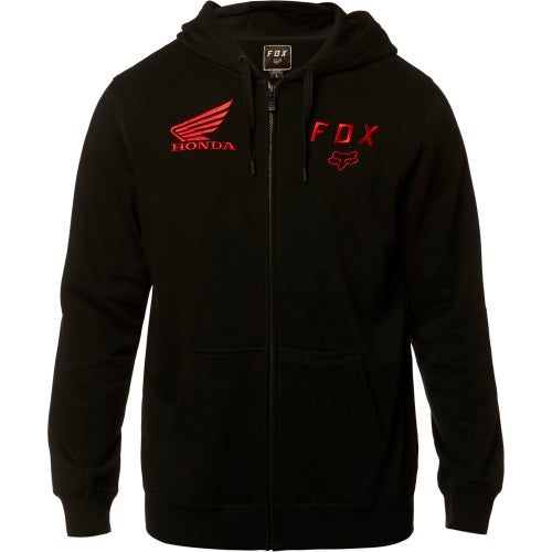 Fox Racing Honda Fleece Zip Hoody - Blk