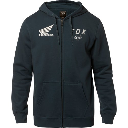Fox Racing Honda Fleece Zip Hoody - Nvy
