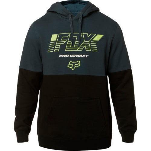 Fox Racing Pro Circuit Fleece Pullover Hoody - Nvy/blk
