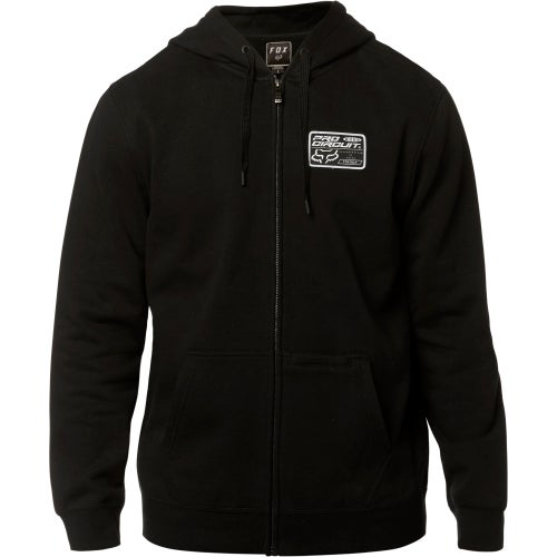 Fox Racing Pro Circuit Fleece Zip Hoody - Blk
