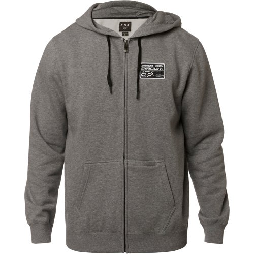 Fox Racing Pro Circuit Fleece Zip Hoody - Htr Graph