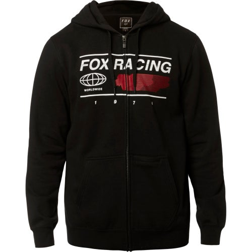 Fox Racing Global Fleece Zip Hoody - Blk