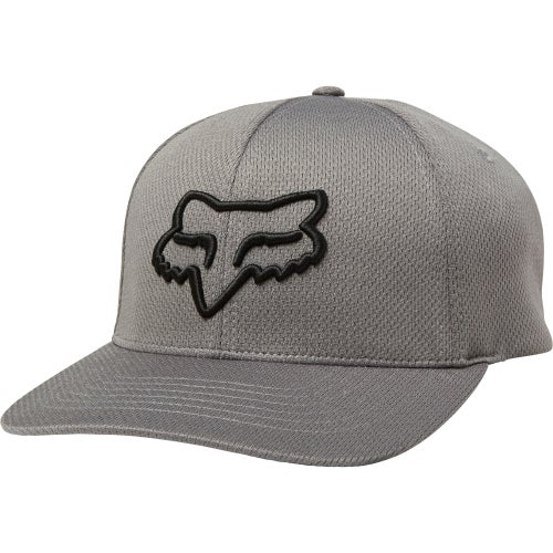 Fox Racing Lithotype Flexfit Cap - Drk Gry