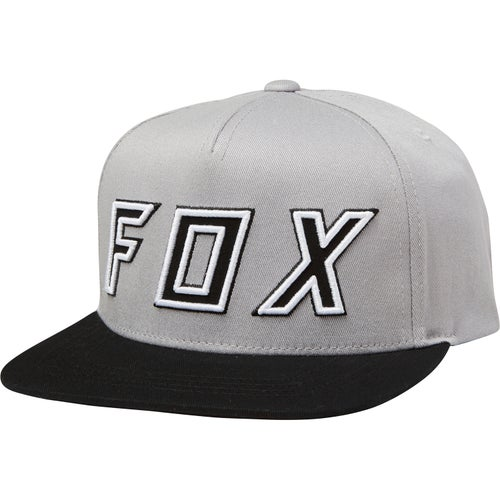 Fox Racing Youth Posessed Snapback Cap - Gry/blk