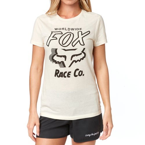 Fox Racing Worldwide Crew Womens Short Sleeve T-Shirt - Bne