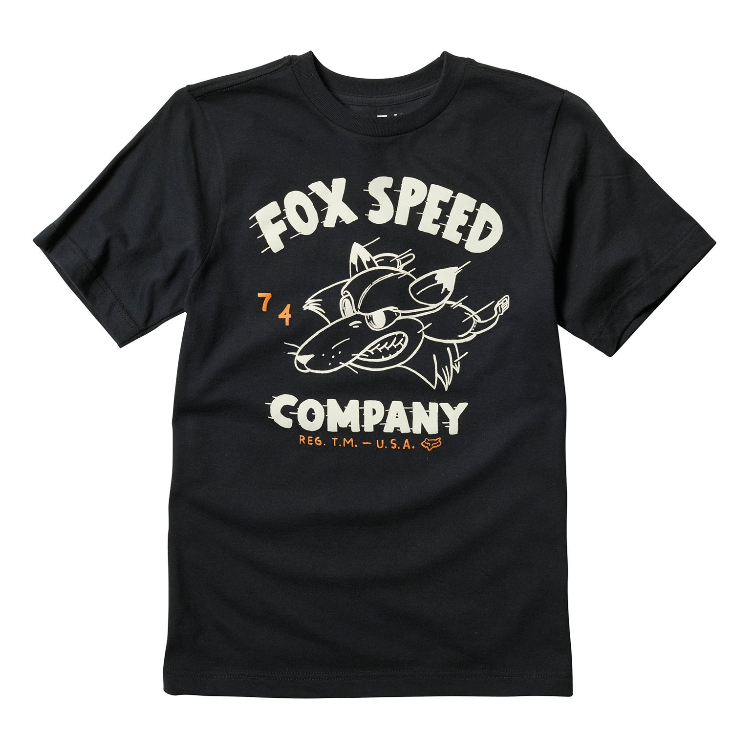 Fox Racing Youth Bomber Short Sleeve T-Shirt - Blk
