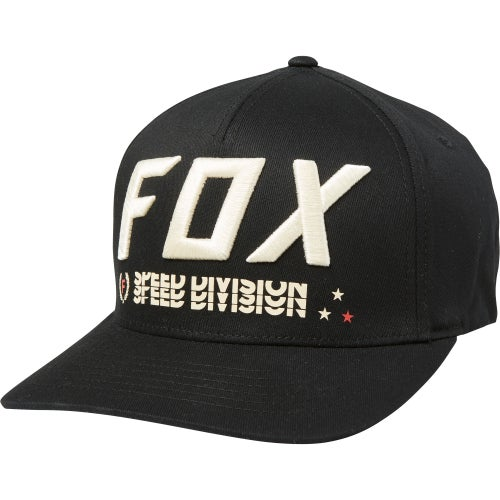 Fox Racing Triple Threat Flexfit Cap - Blk