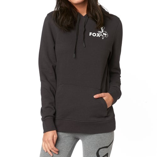 Fox Racing Live Fast Womens Pullover Hoody - Blk Vin