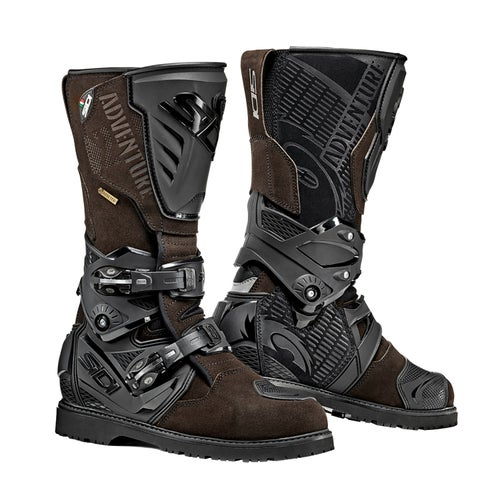 Sidi Adventure 2 Gore Motocross Boots - Brown