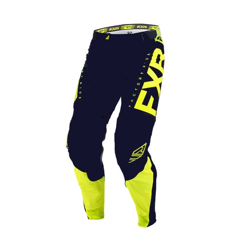 FXR Helium A1 Limited Edition Motocross Pant Motocross Pants - Midnight Navy / Hi-viz