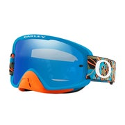 Camo Vine Jungle Orange Blue ~ Black Ice Irdium &