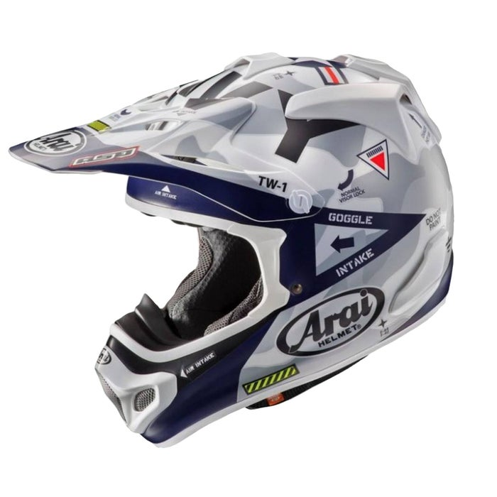 Arai MXV Navy Limited Edition , MX hjälm