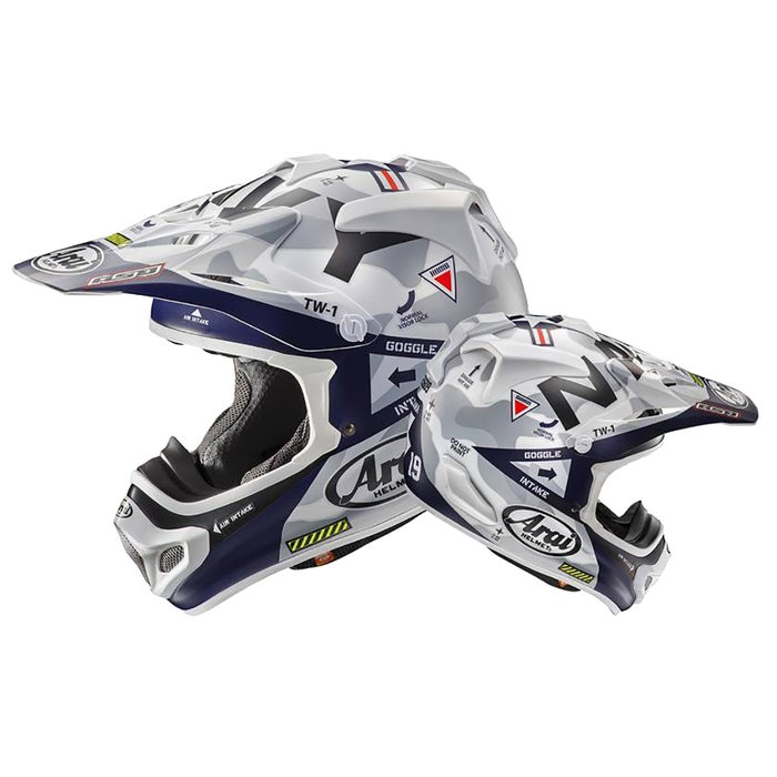 Arai MXV Navy Limited Edition Motocross Helmet