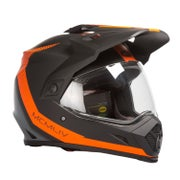 Switchback Matte Black Orange