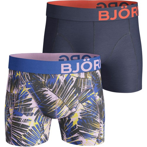 370b25fbb Bjorn Borg Summer Palm Cotton Stretch 2 Pack Boxerky at Extremepie.com