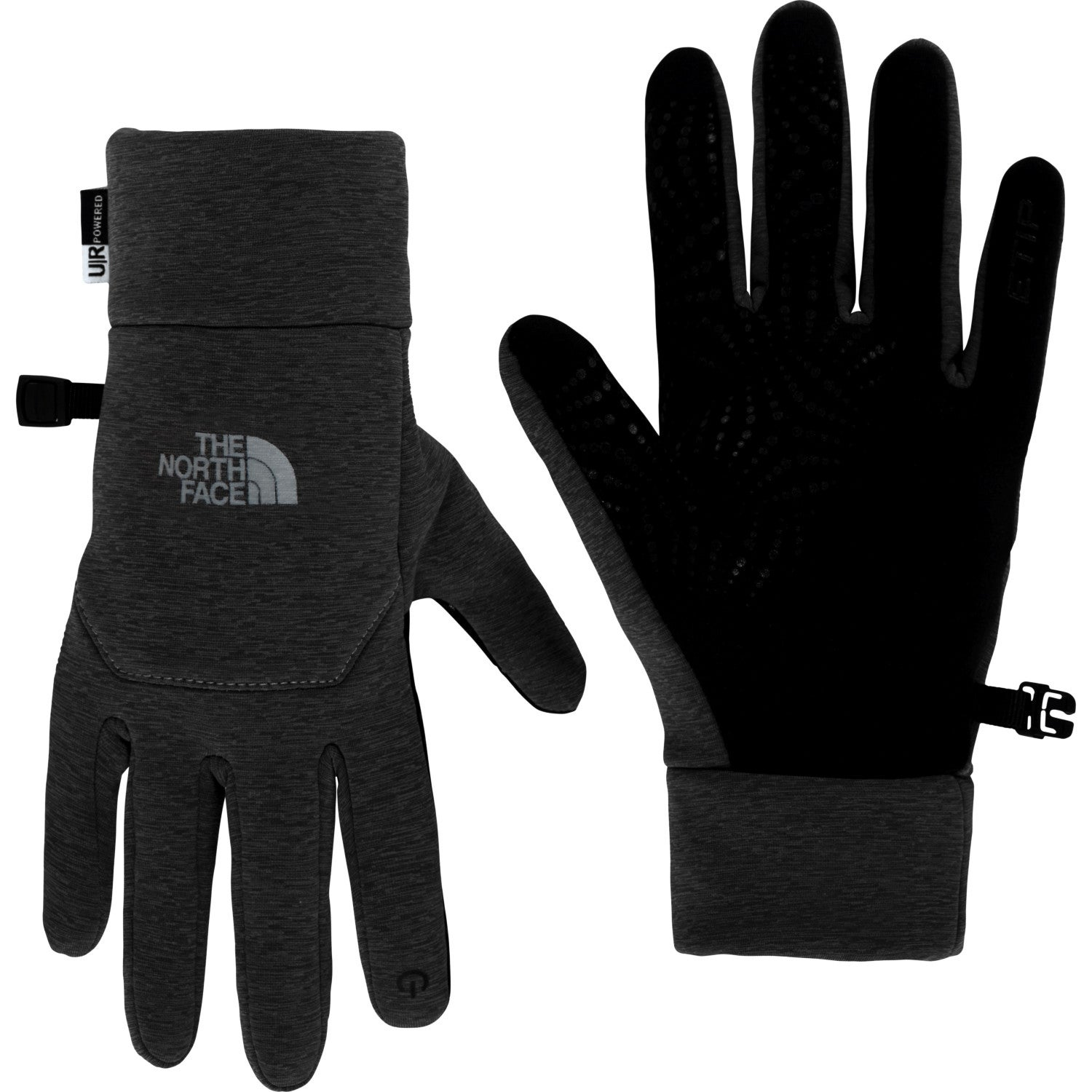 guantes the north face etip negro mujer