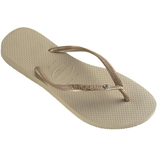 64564ddbd06dc1 Havaianas Slim Crystal Glamour Womens Flip Flops at Extremepie.com