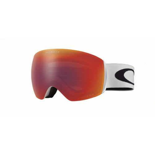 5a76cadc89 Oakley Flight Deck XM Ski Goggles. Matte White ~ Prizm Torch Iridium
