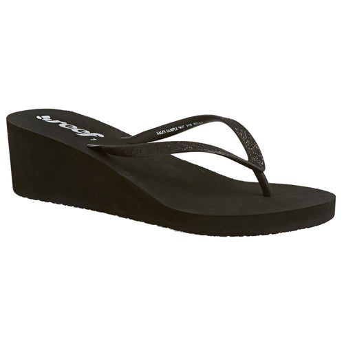 b74a94c4bd Reef Krystal Star Wedge Womens Flip Flops at Extremepie.com