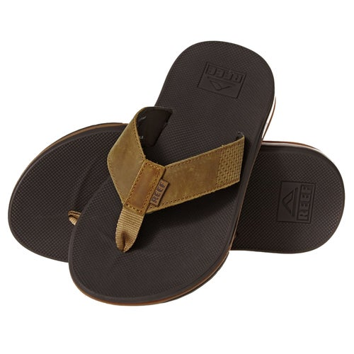 a2dcf441c9f5 Reef Leather Fanning Low Flip Flops at Extremepie.com
