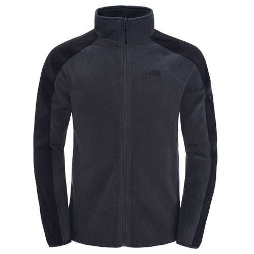 be49d7d714e North Face Glacier Delta Full Zip Mens Fleece - Grey