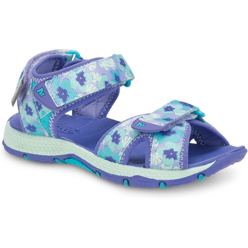fd465aad665 Merrell Surf Strap 2.0 Childrens Sandals - Turquoise Purple