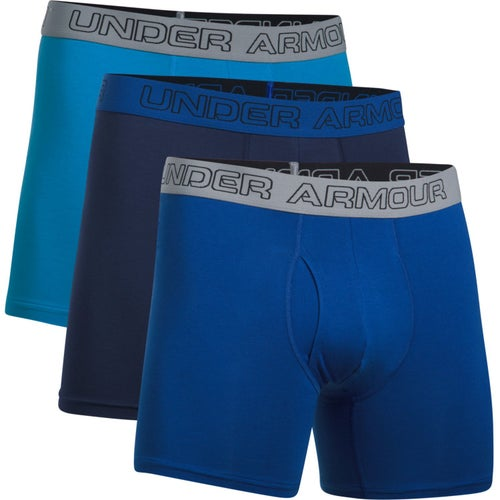 9584b6ed Under Armour Charged Cotton Stretch 6in Boxerjock Boxer Shorts from Fitness  Footwear. ""