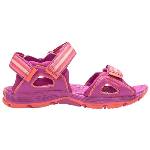 aadbe44aa40 Merrell M-hydro Blaze Childrens Sandals - Purple coral