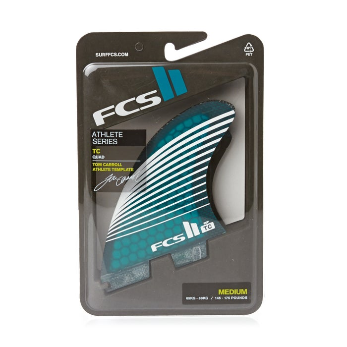 FCS II Tom Carroll Core Carbon Quad SUP Fin
