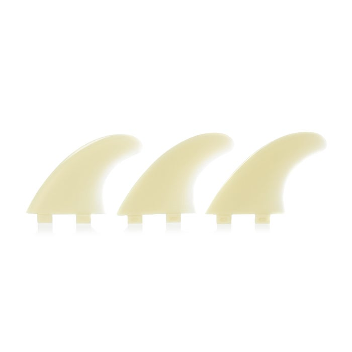 FCS M5 Natural Glass Flex Thruster Fin