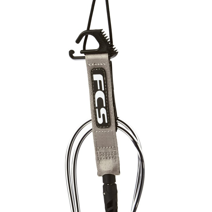 FCS Comp Black Coaxial Surf Leash