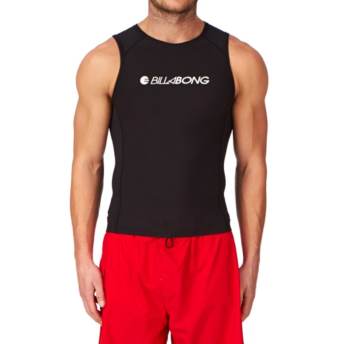 Billabong Polypro Furnace Thermal Sleeveless Mens Rash Vest