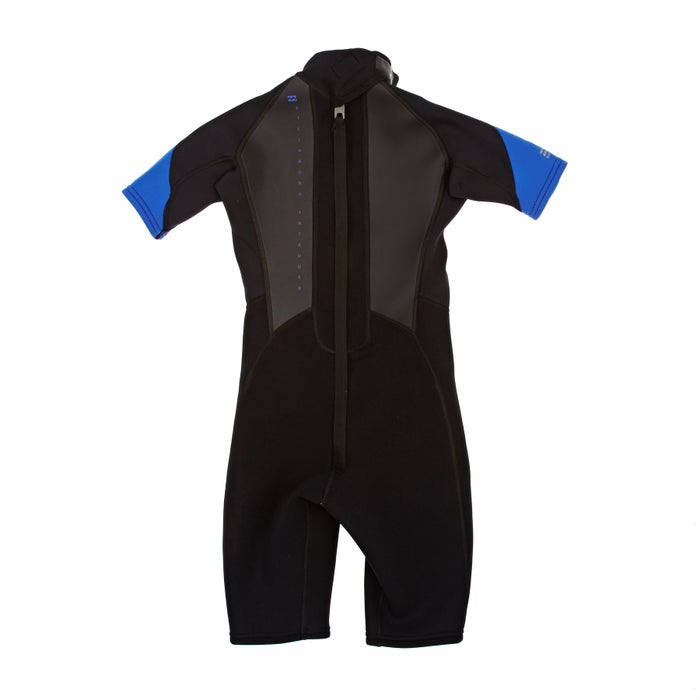Billabong Intruder 2mm 2019 Back Zip Shorty Kids Wetsuit