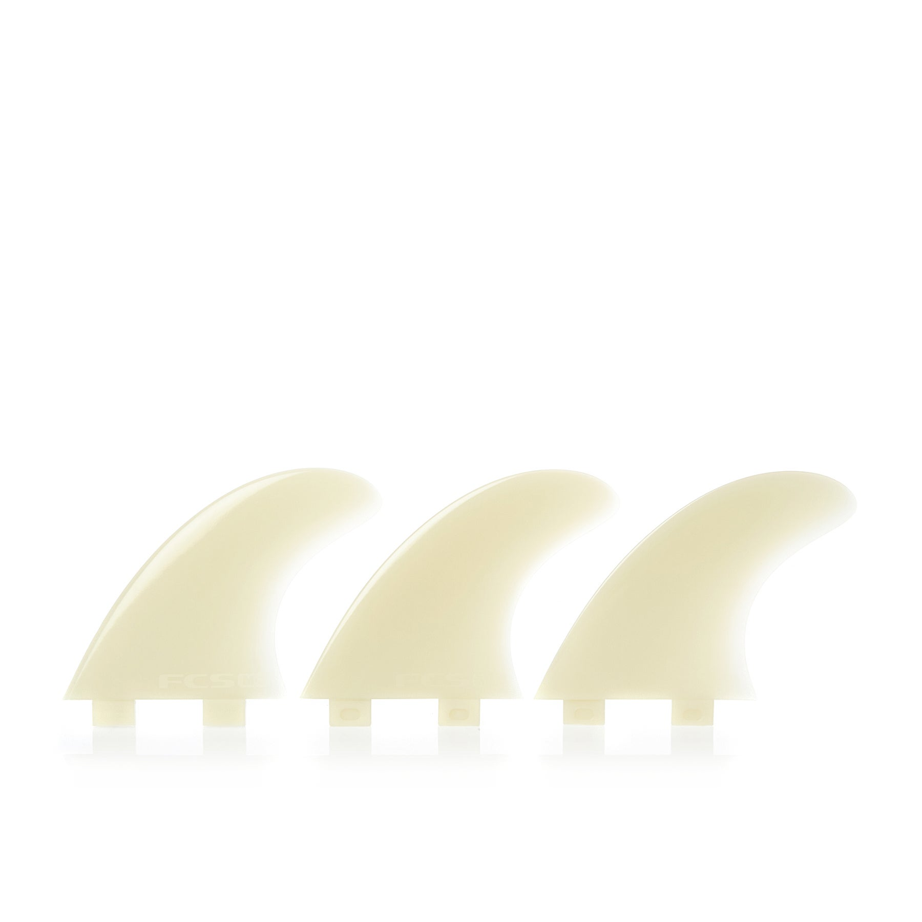 FCS M3 Natural Glass Flex Thruster Fin