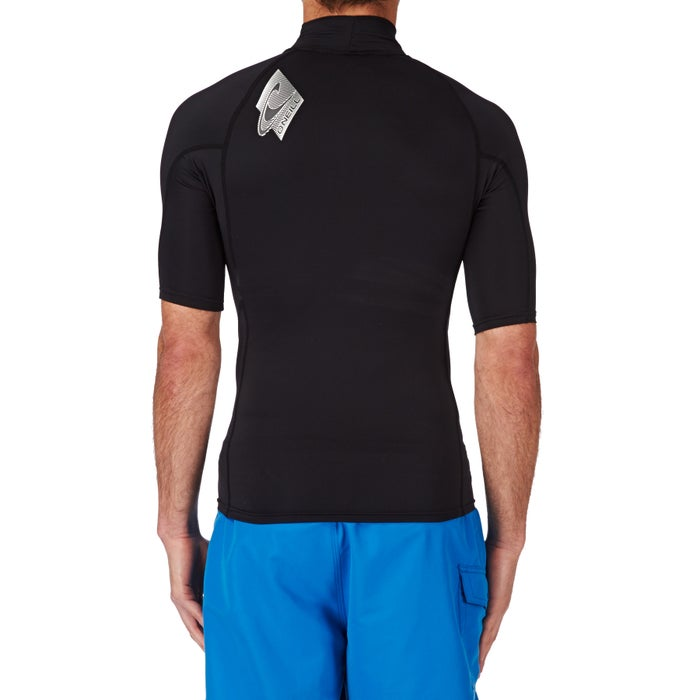 O Neill Skins Short Sleeve Turtleneck Rash Vest