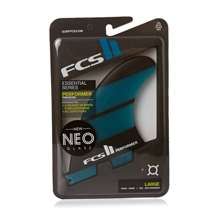FCS II Performer Neo Glass Thruster Fin