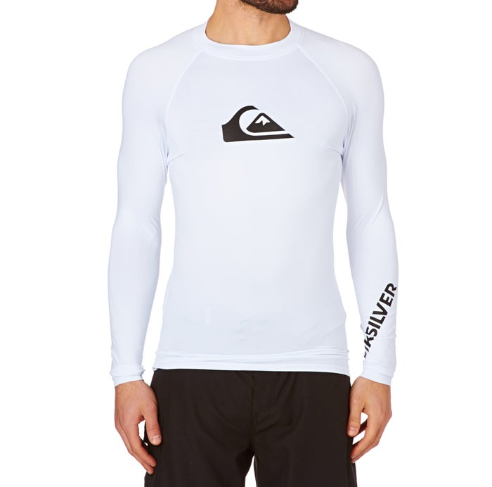Quiksilver All Time Long Sleeve Mens Rash Vest