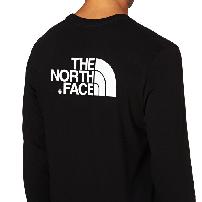 North Face Easy Mens Long Sleeve T-Shirt