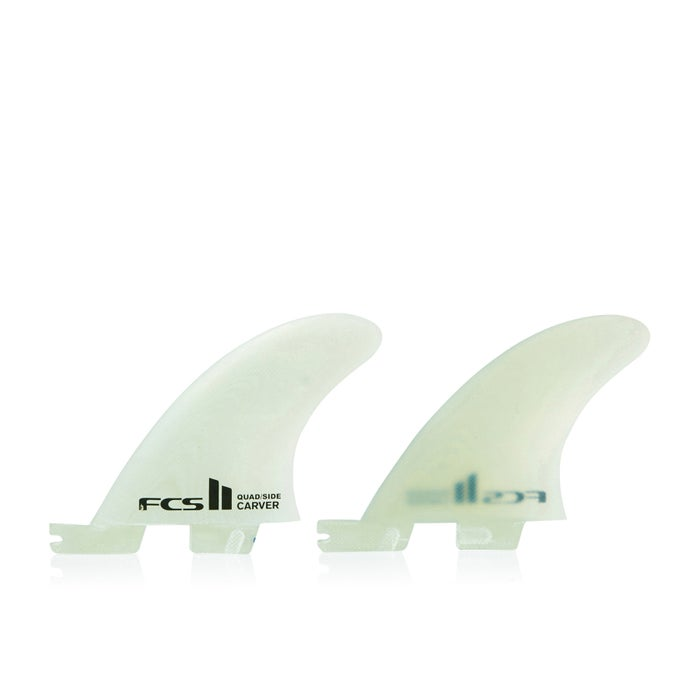 FCS II Carver Performance Glass Quad Rear Fin