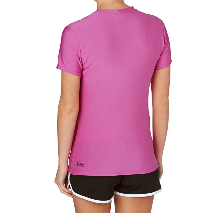 O Neill Basic Skins Short Sleeve Crew Ladies Surf T-Shirt