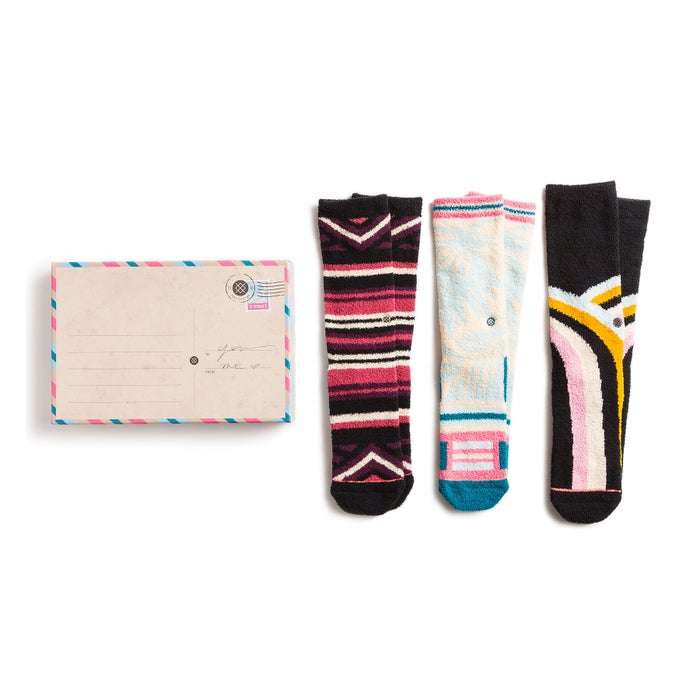 Stance 3 Pack Box Set Ladies Socks
