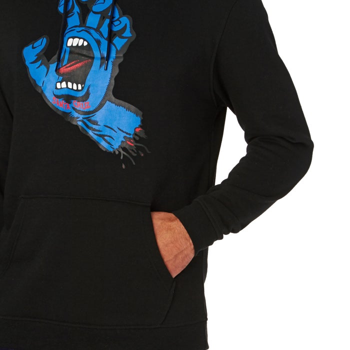Santa Cruz Screaming Hand Mens Pullover Hoody