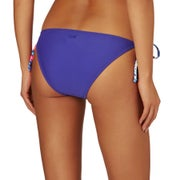 Roxy Mix Adventure Tie Side Scooter Ladies Bikini Bottoms