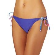Roxy Mix Adventure Tie Side Scooter Bikini Bottoms