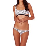 Volcom Leaf Me Alone Crop Ladies Bikini Top