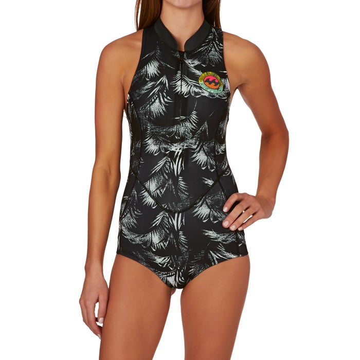 Billabong Surf Capsule 1mm Front Zip Sleeveless Shorty Ladies Wetsuit