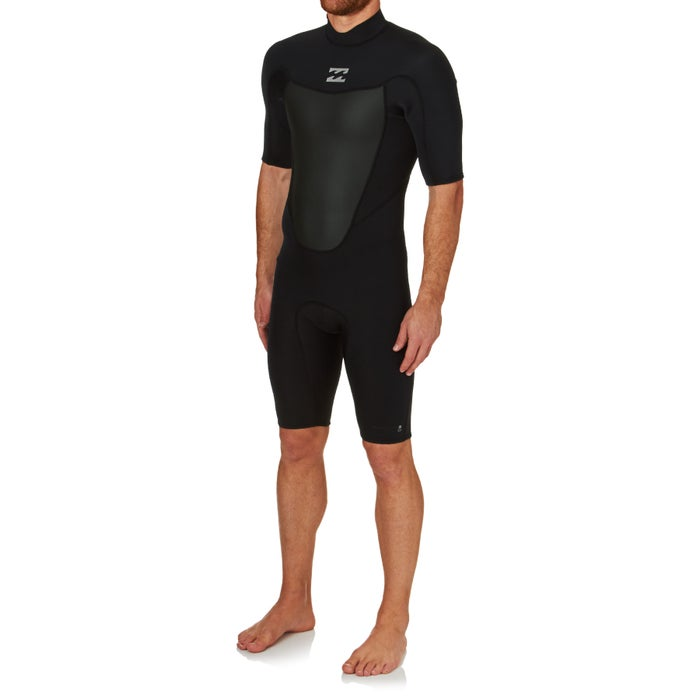 Billabong Absolute Comp 2mm 2017 Back Zip Shorty Wetsuit