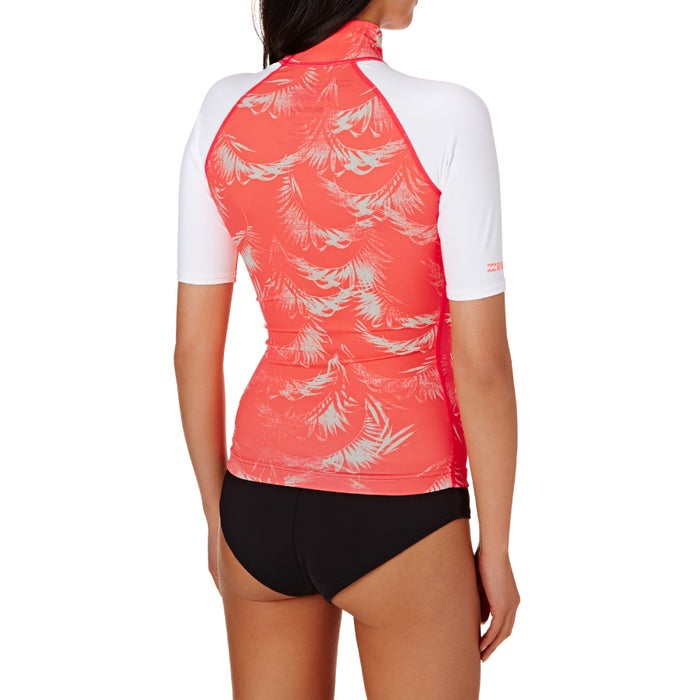 Billabong Surf Capsule Short Sleeve Ladies Rash Vest